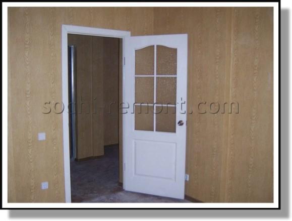 Двери в кухне